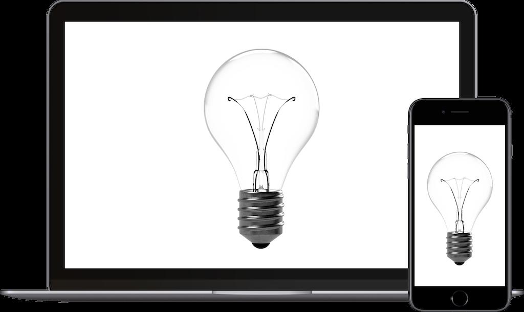 Creative website design and build.